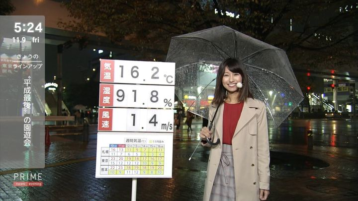 2018年11月09日酒井千佳の画像03枚目