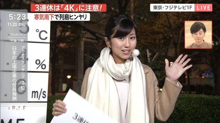 2018年11月22日酒井千佳の画像03枚目