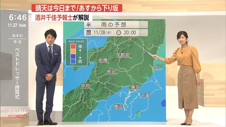 2018年11月27日酒井千佳の画像07枚目