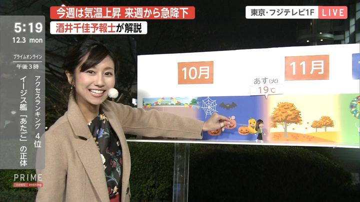 2018年12月03日酒井千佳の画像04枚目