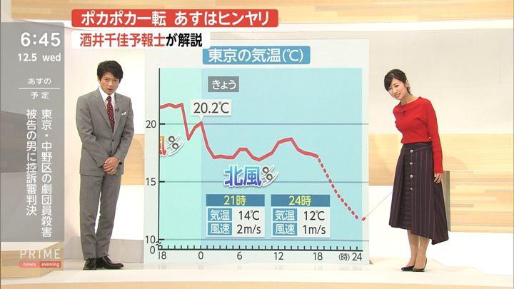 2018年12月05日酒井千佳の画像09枚目