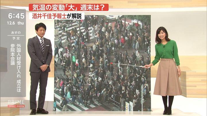 2018年12月06日酒井千佳の画像07枚目