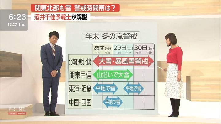 2018年12月27日酒井千佳の画像08枚目