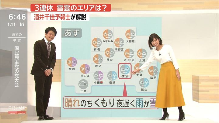 2019年01月11日酒井千佳の画像12枚目
