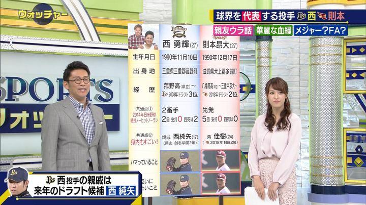 2018年11月03日鷲見玲奈の画像40枚目