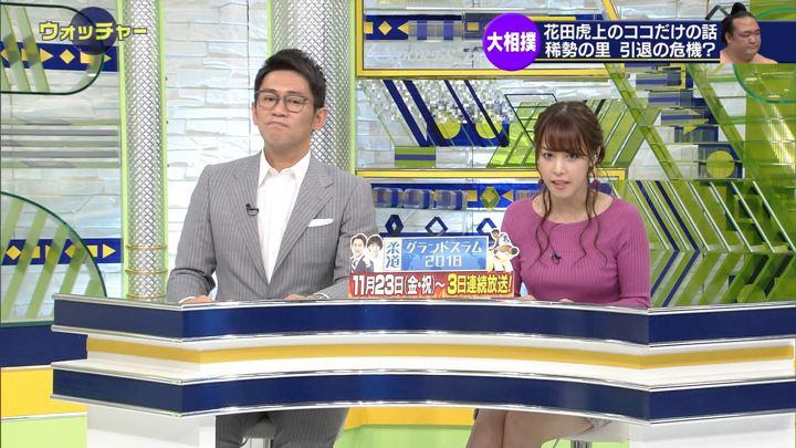 2018年11月17日鷲見玲奈の画像13枚目