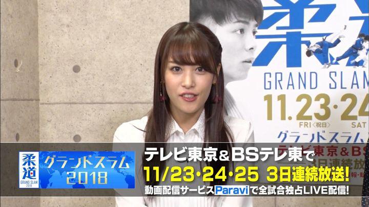 2018年11月18日鷲見玲奈の画像18枚目