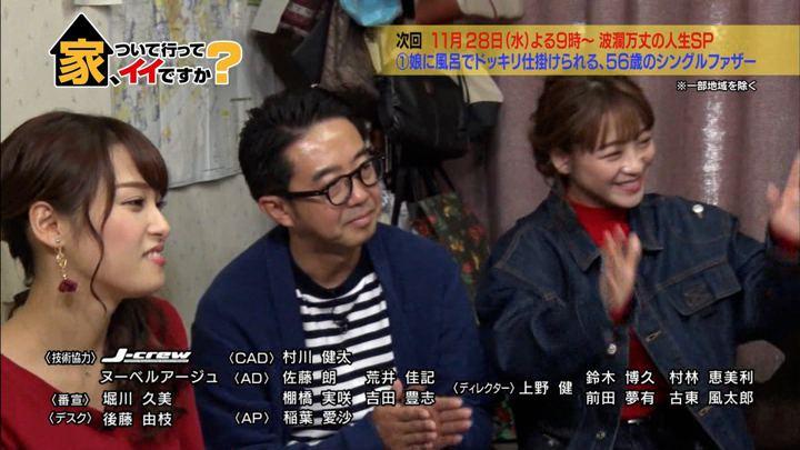 2018年11月21日鷲見玲奈の画像26枚目