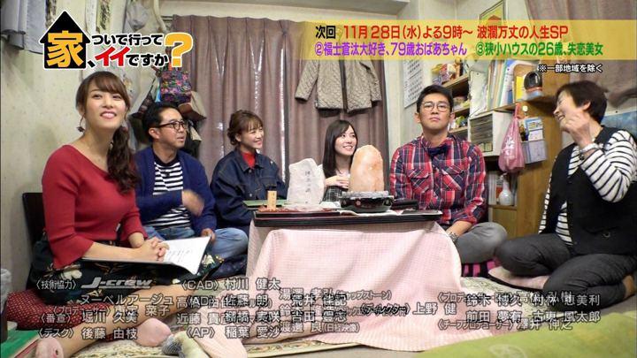 2018年11月21日鷲見玲奈の画像27枚目
