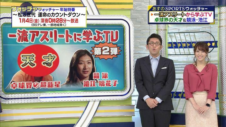 2018年12月22日鷲見玲奈の画像14枚目