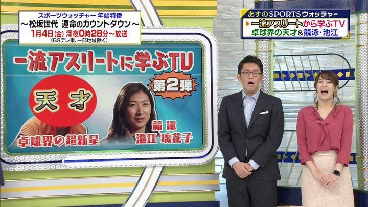 2018年12月22日鷲見玲奈の画像15枚目