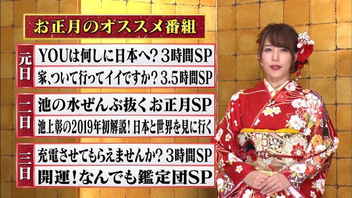 2018年12月29日鷲見玲奈の画像14枚目