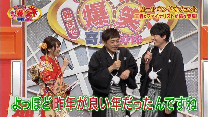 2018年12月31日鷲見玲奈の画像04枚目