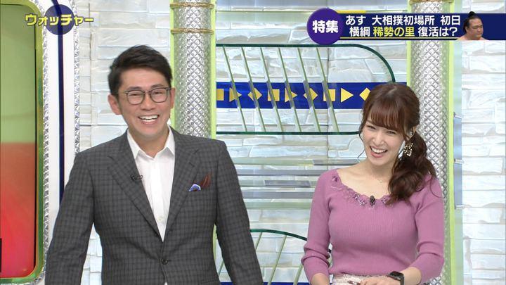 2019年01月12日鷲見玲奈の画像11枚目