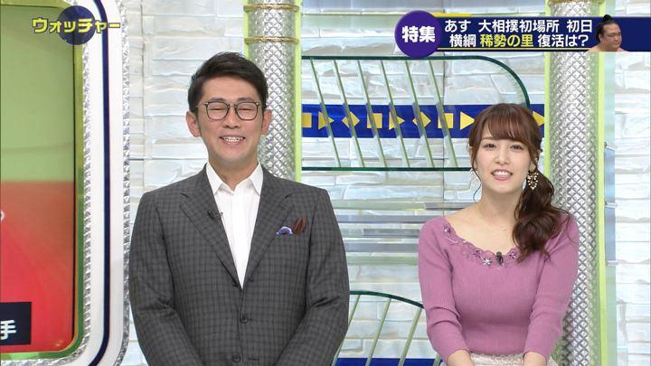 2019年01月12日鷲見玲奈の画像12枚目