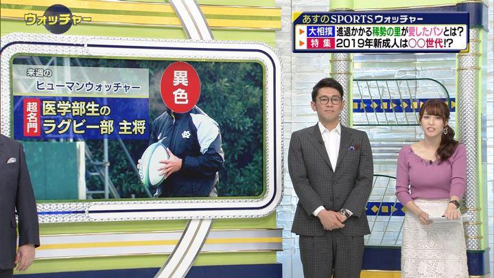 2019年01月12日鷲見玲奈の画像23枚目