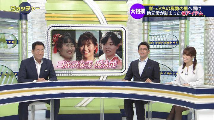 2019年01月13日鷲見玲奈の画像15枚目