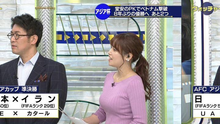2019年01月26日鷲見玲奈の画像25枚目
