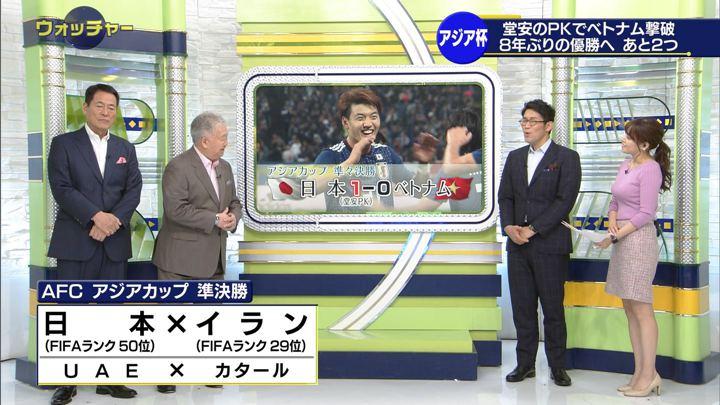 2019年01月26日鷲見玲奈の画像28枚目