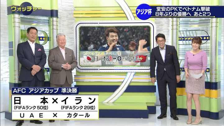 2019年01月26日鷲見玲奈の画像30枚目