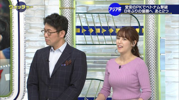 2019年01月26日鷲見玲奈の画像33枚目