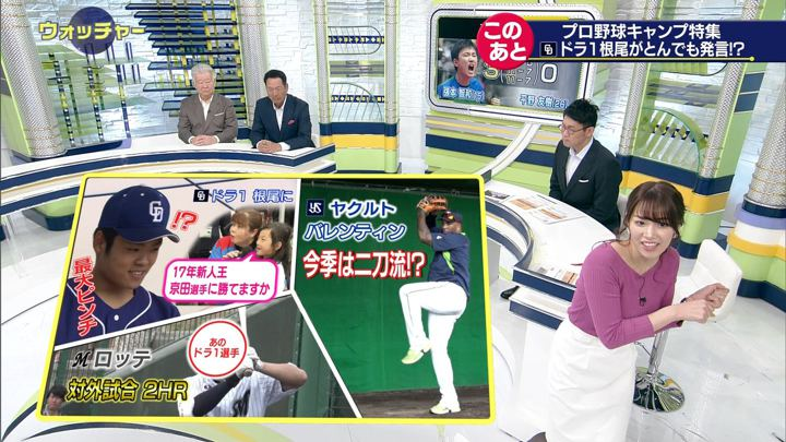 2019年02月09日鷲見玲奈の画像23枚目