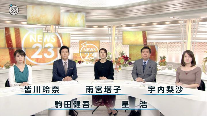 2018年10月16日宇内梨沙の画像03枚目