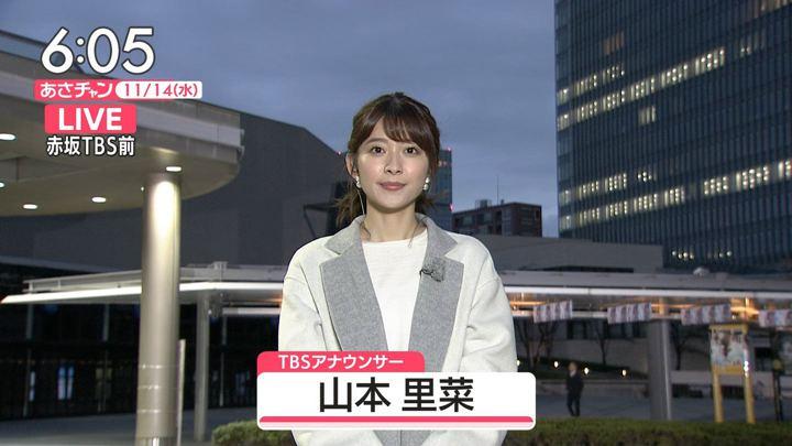 2018年11月14日山本里菜の画像11枚目