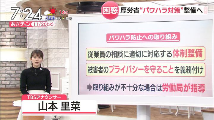 2018年11月20日山本里菜の画像13枚目