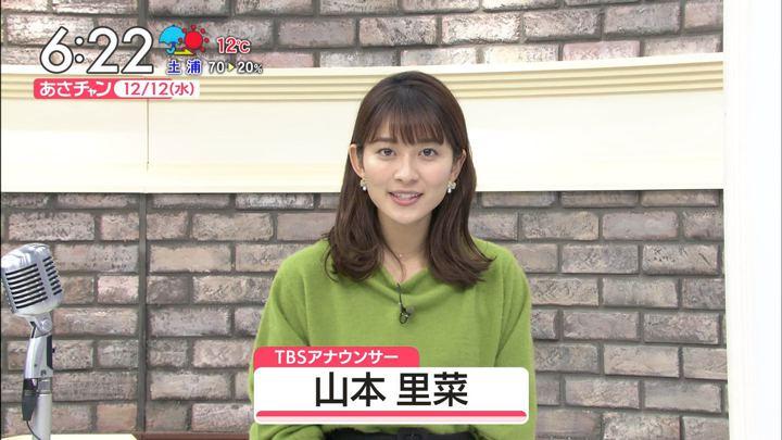 山本里菜 あさチャン! (2018年12月12日放送 13枚)
