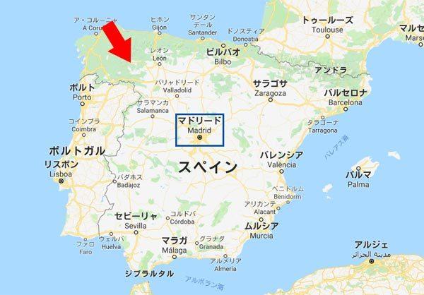 ビジャフランカ 地図