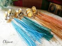 Full Moon earrings_feather
