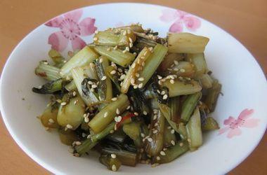 019野沢菜油炒め2