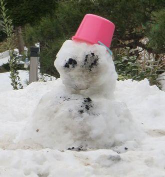011雪だるま