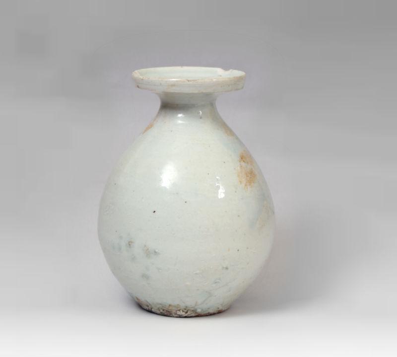 李朝白磁瓶