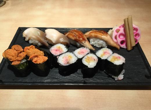 190223寿司常夕食