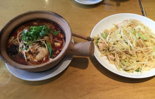 190316紅虎餃子房昼食