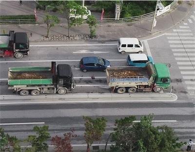 琉球セメント桟橋からの土砂海上搬送の異常さ Du8J6XbUwAI8Bmm