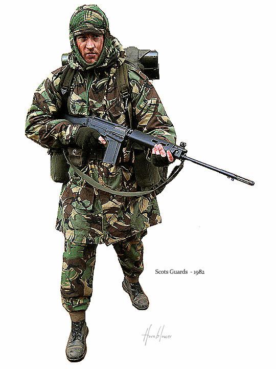 Scots Guards イラスト