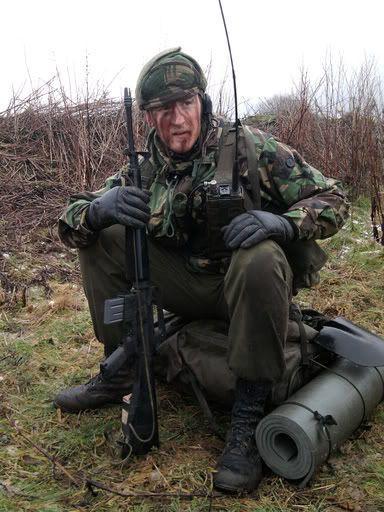 Royal Marines Commando SBS
