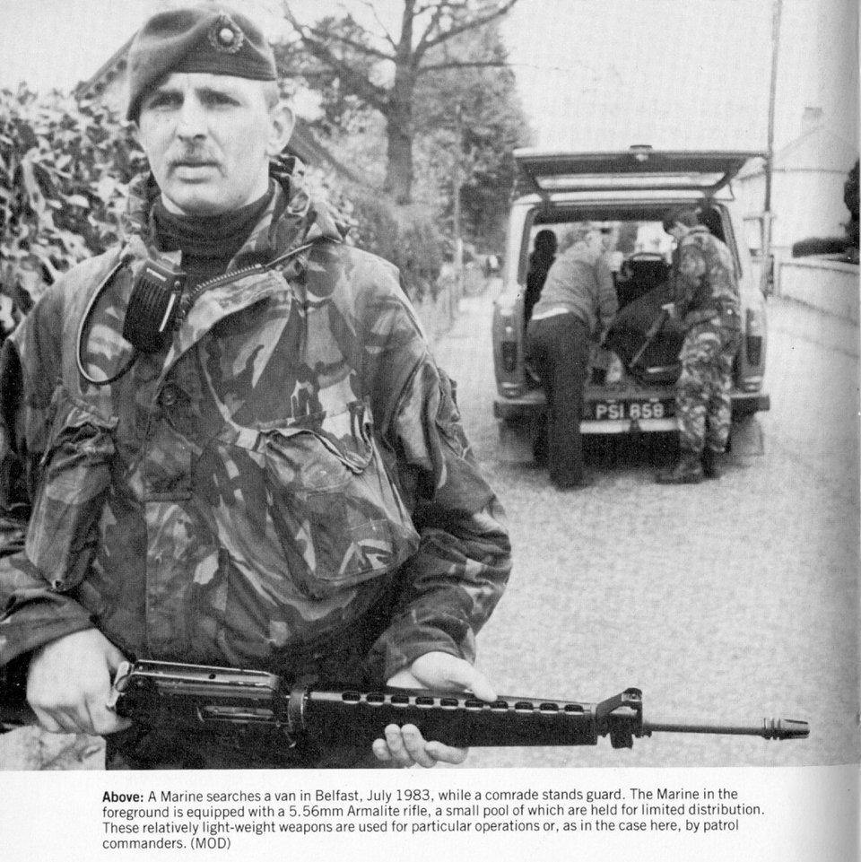 ロイヤルマリーンM16/1983年