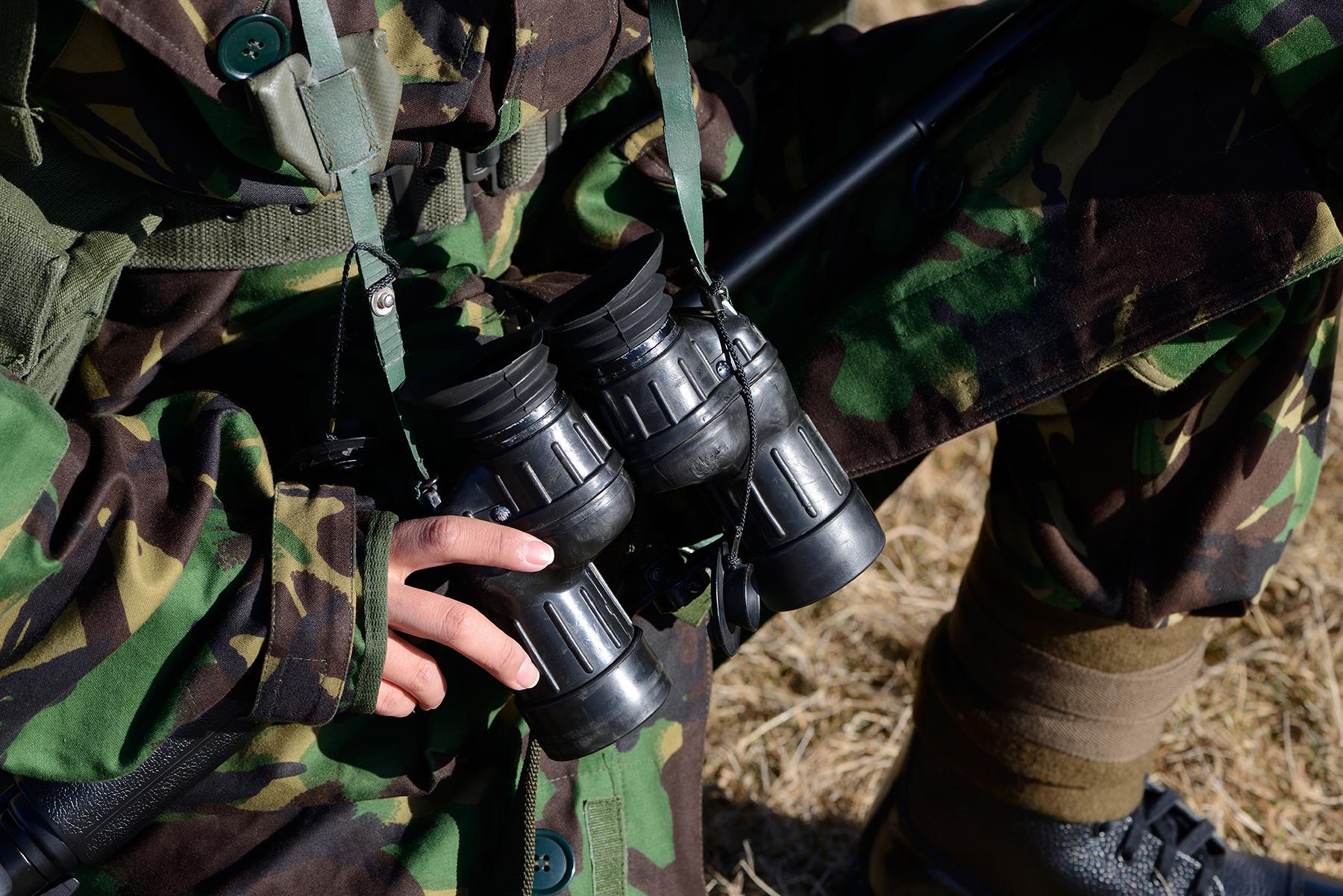 英軍フォークランド紛争装備