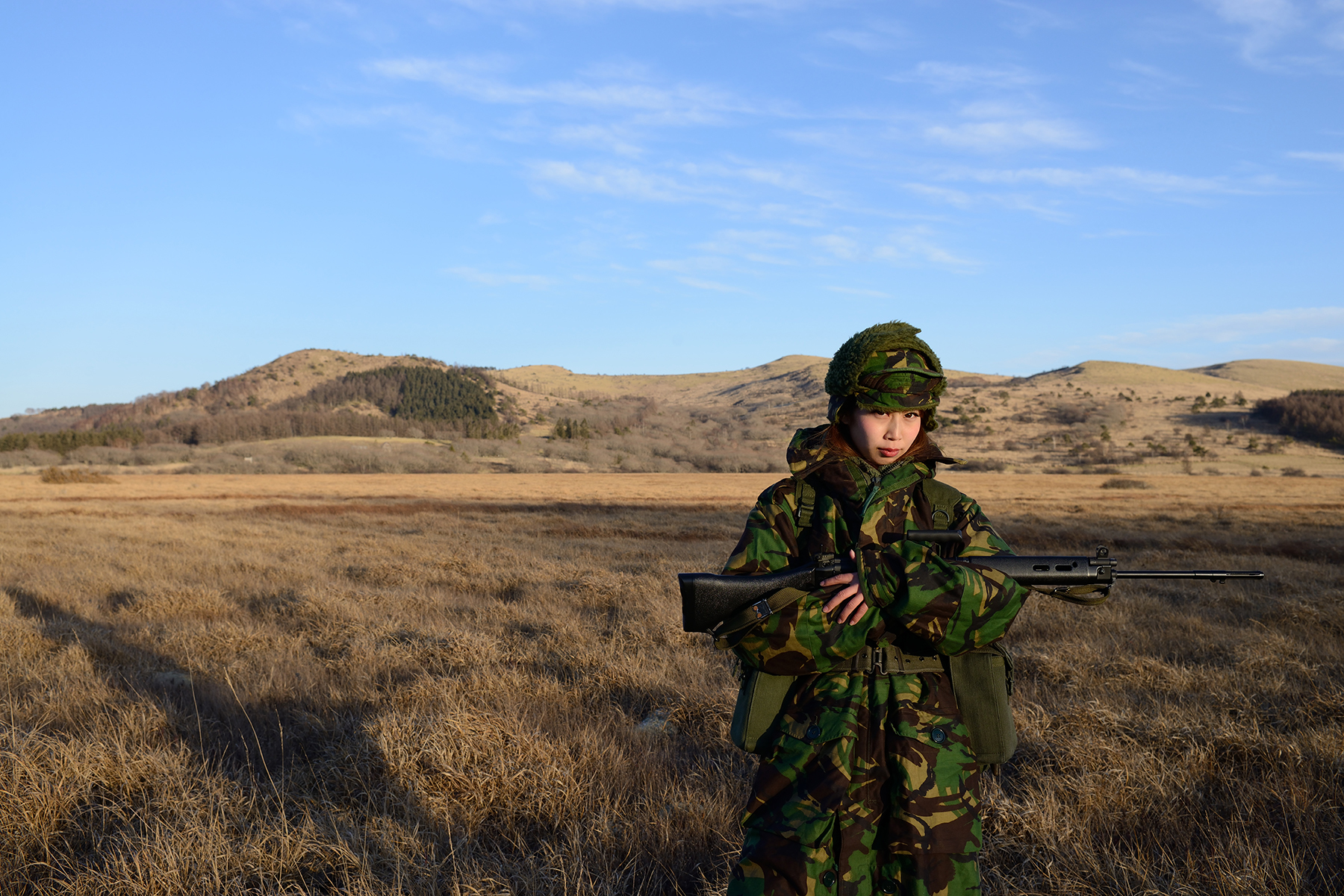 フォークランド紛争・英軍装備【モデル:HINAさん】