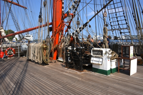 Sedov Main upper deck