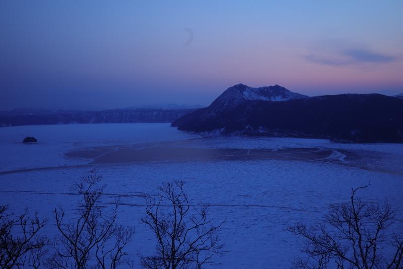 0962 結氷した摩周湖