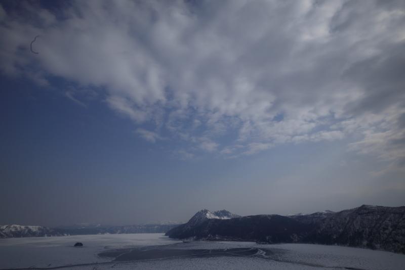 1133 摩周湖とダイナミックな雲