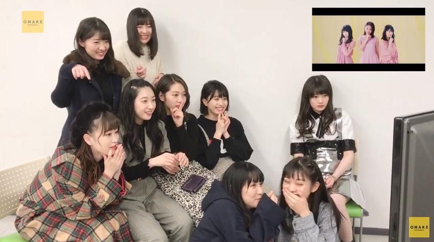 つばき5thシングルMV鑑賞会10