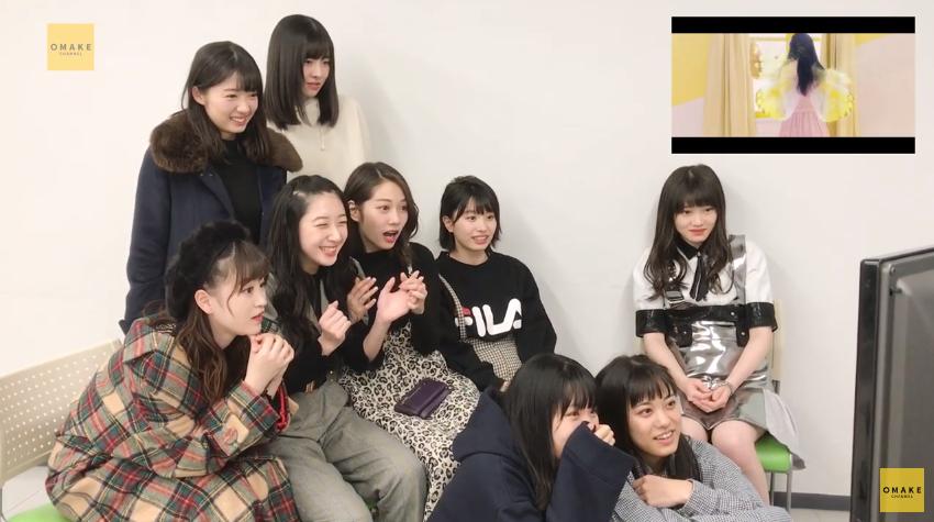 つばき5thシングルMV鑑賞会09
