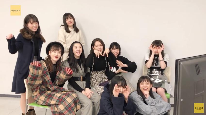 つばき5thシングルMV鑑賞会01