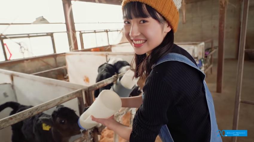 梁川奈々美 Blu-ray「わたしのあしおと」ダイジェスト02